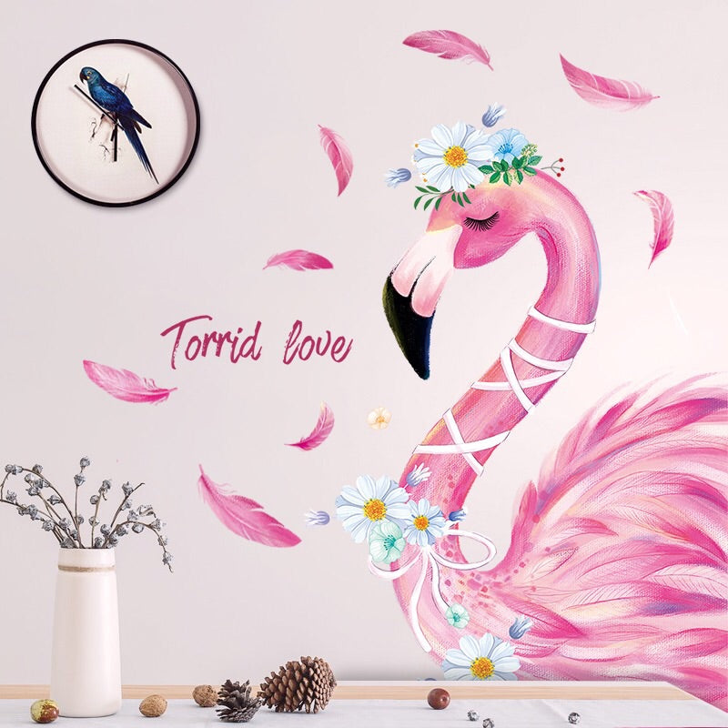 Flamingo Wall Decals