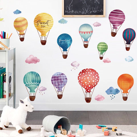 Air Balloon Wall Decals