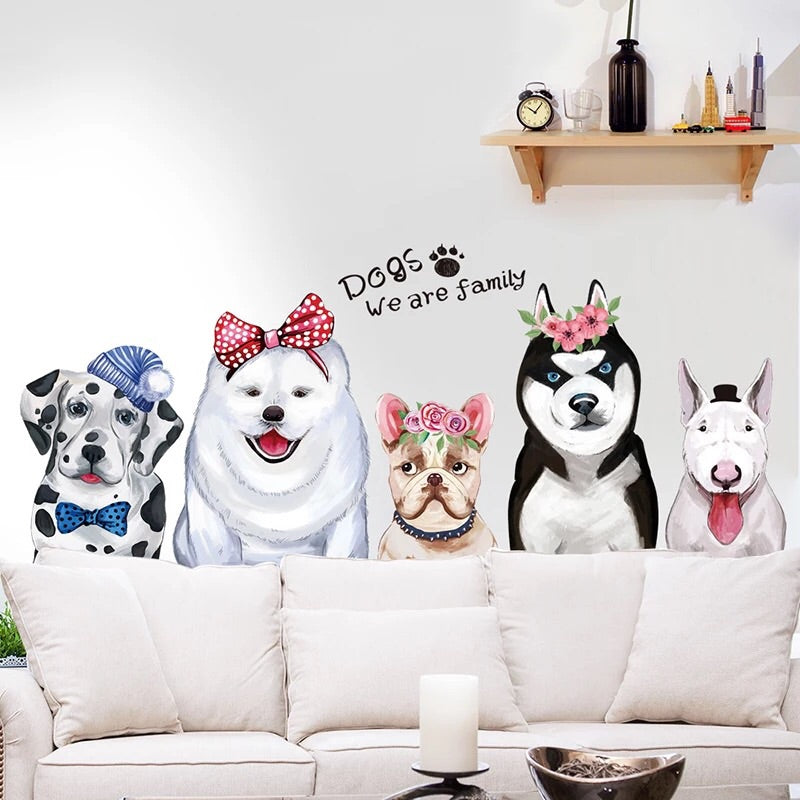 Dog Wall Decals