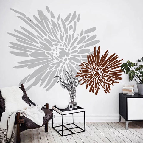 Chrysanthemum Wall Decals-Flowers Wall Decals