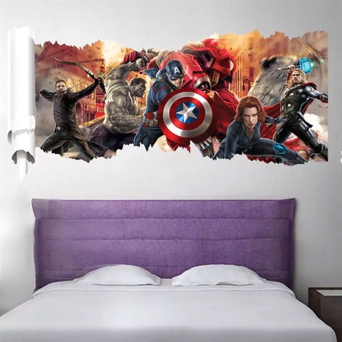 Marvel-Avengers Wall Decals