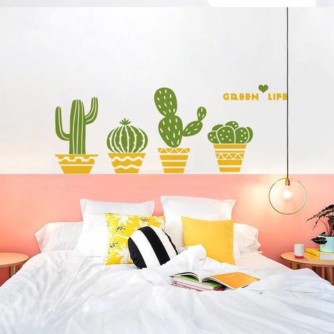 Cactus Wall Decals-Nursery Wall Stickers
