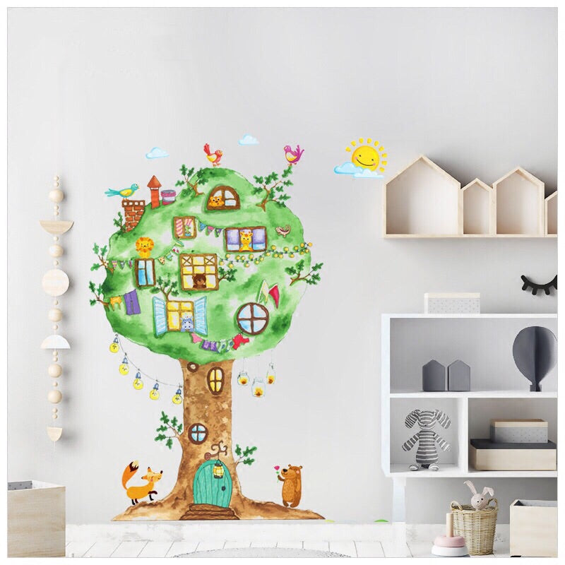 Tree Wall Decals For Nursery-Kids Wall Decals