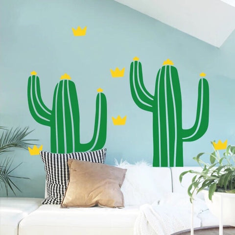 Cactus Wall Decal-Nursery Wall Decals