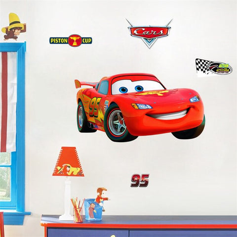 Disney Cars Lightning McQueen Wall Decals