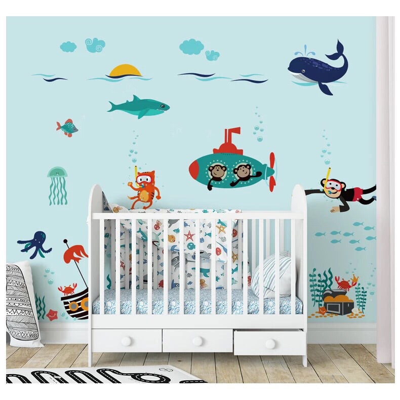 Under The Sea Wall Decals-Ocean Wall Decals