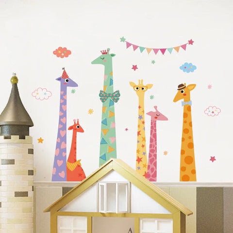 Giraffe Wall Decal-Kids Wall Decals