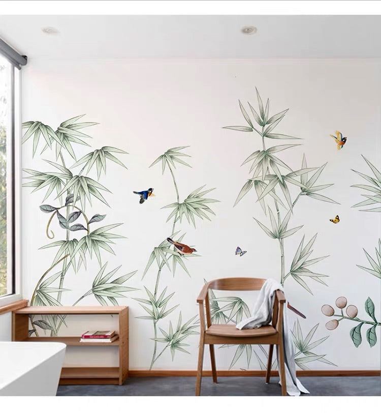 Bamboo Wall Decals