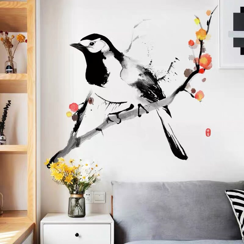 Bird & Branch Wall Decals
