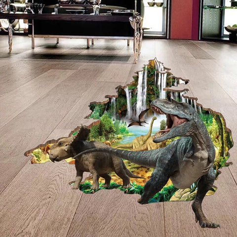 3D Wall Decals-Dinosaur