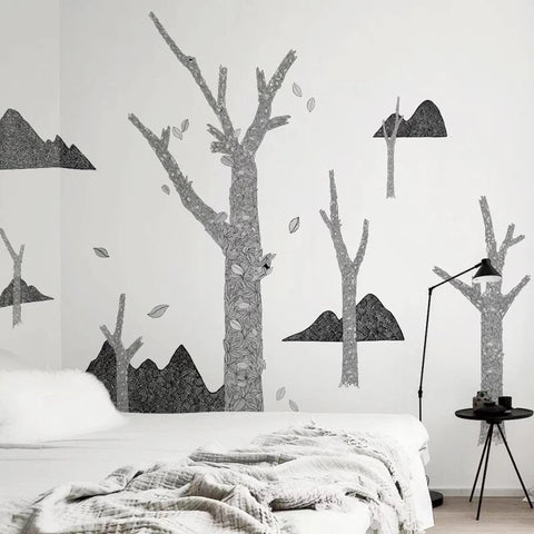Mountain  Wall Decals-Nursery Wall Decals