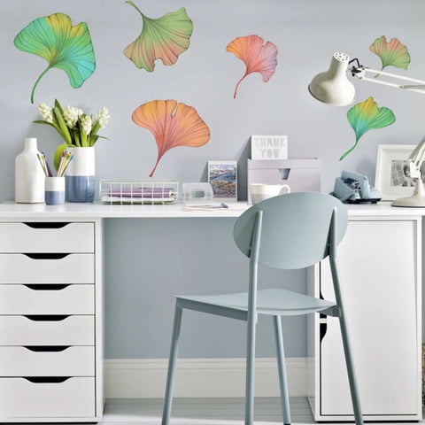 Ginkgo leaf  Wall Decals