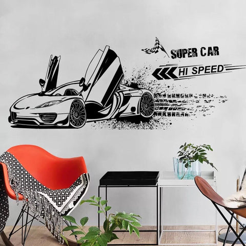 Super Car Wall Decals