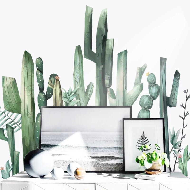 Cactus Wall Decals