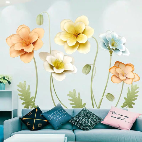 Flowers Wall Decals
