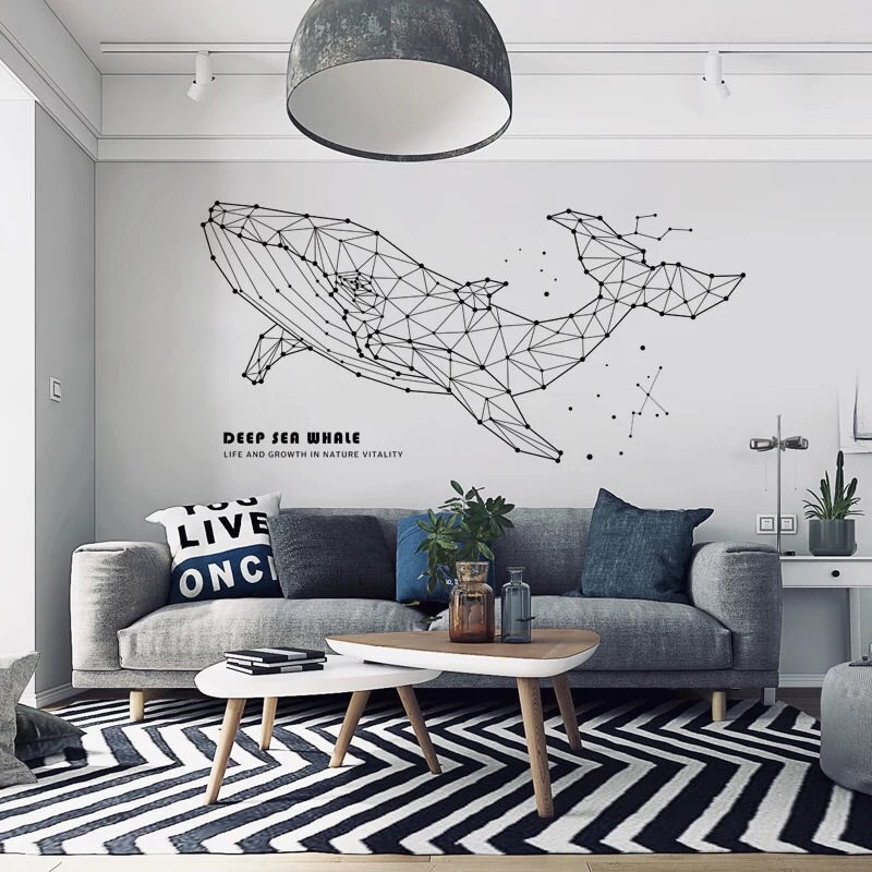Sea Whale Wall Decals