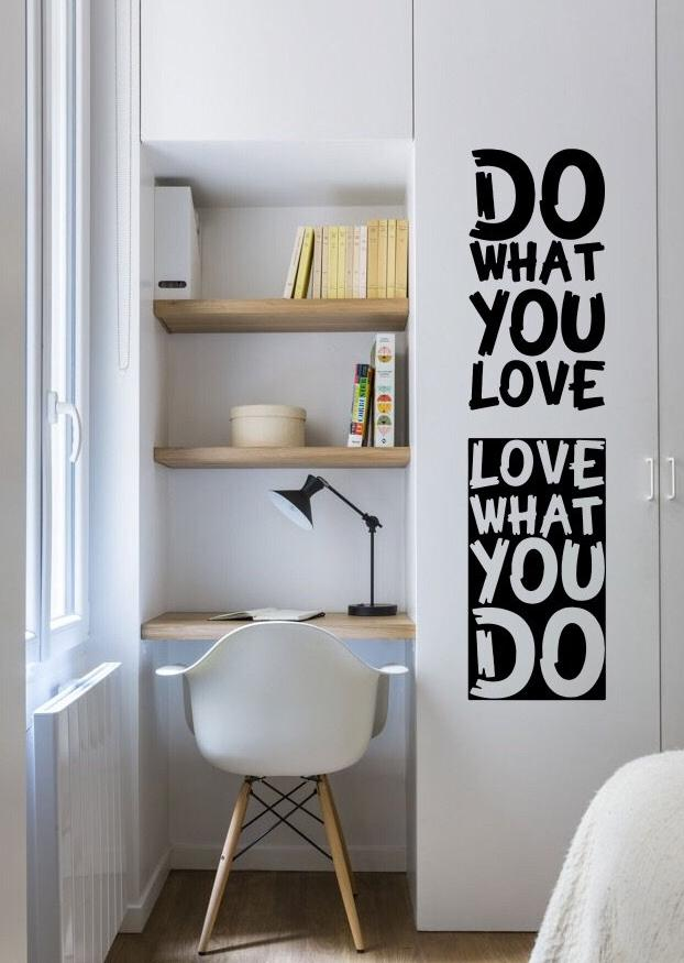 Do What You Love Wall Quotes