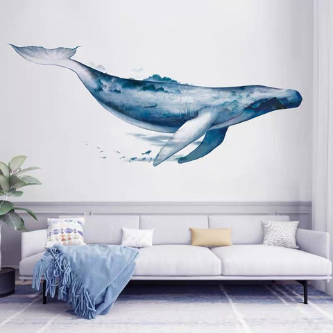 Whale Wall Decals