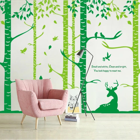 Large Tree Forest Wall Decals