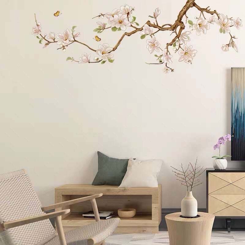 Orchids Flowers Wall Stickers