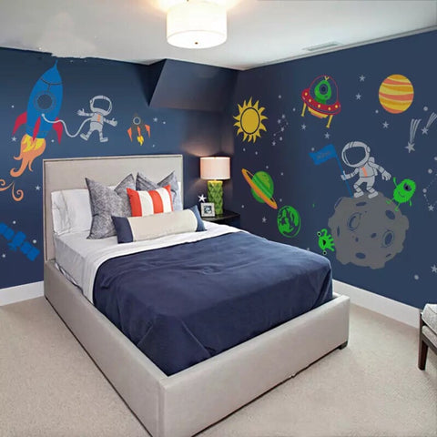 Outer Space Wall Decals