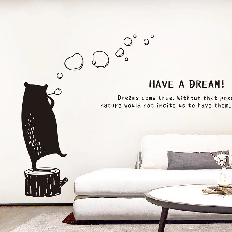 Bear Wall Decal-Nursery Wall Stickers