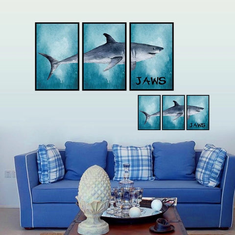 3D Wall Decals-Shark