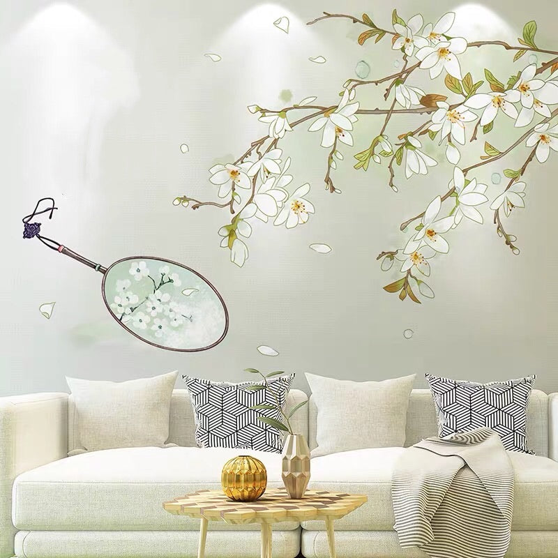 Pear Flowers Wall Stickers