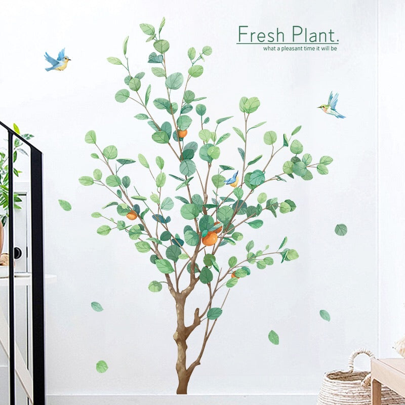 Tree and Birds Wall Stickers