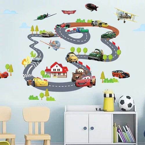 Disney∙Pixar Cars Racing Wall Decals