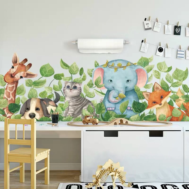 Animals Wall Decals For Kid's Room