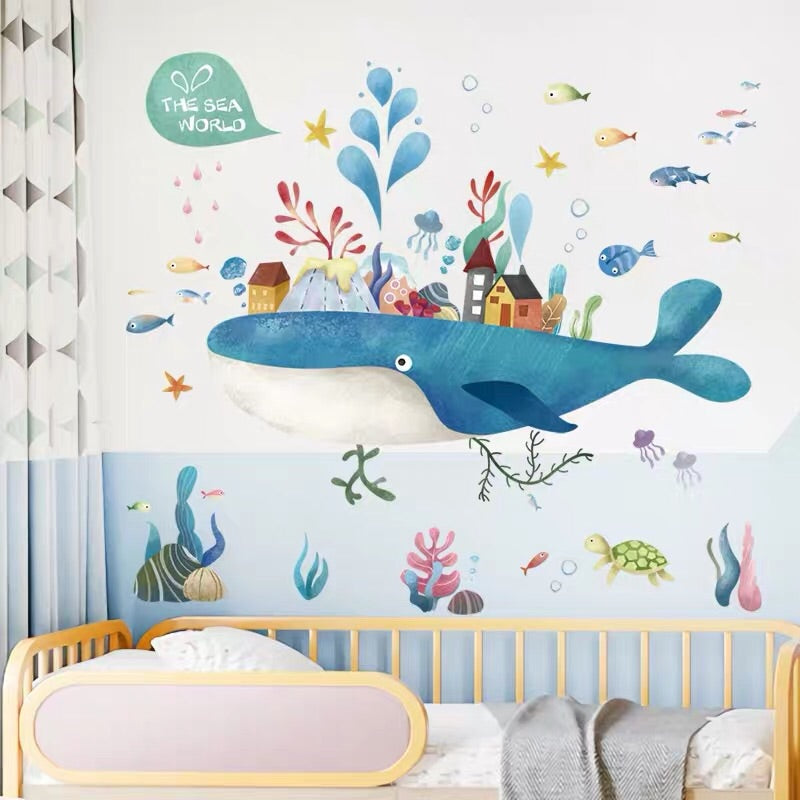 The Sea World Wall Stickers For Child's Bedroom