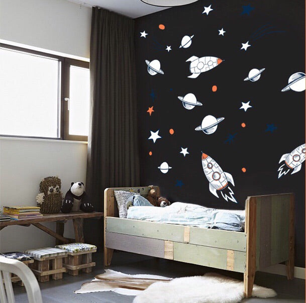 Outer Spaces Wall Decals