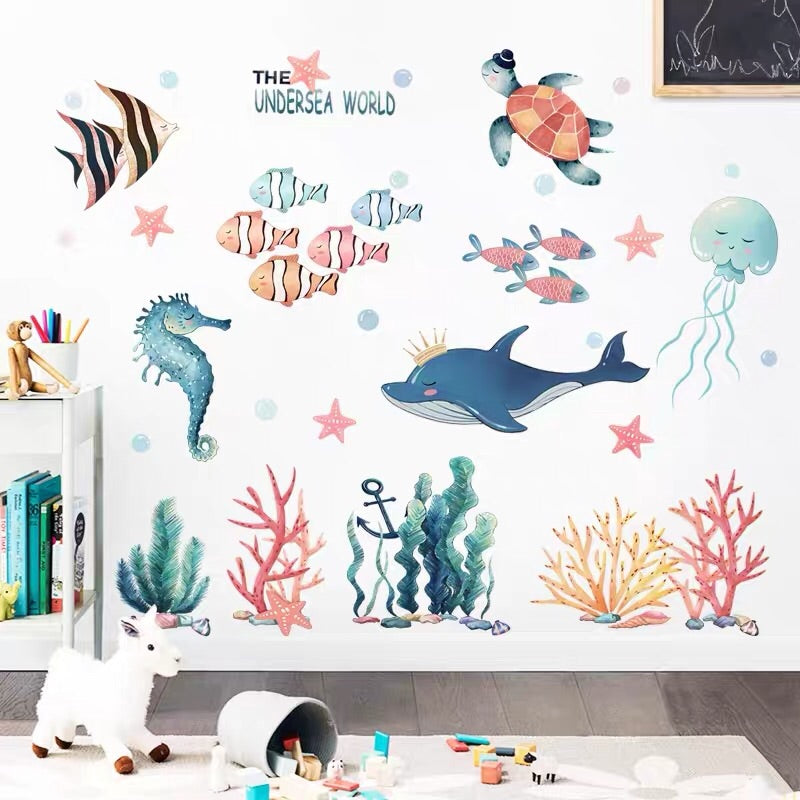 The Under Sea World Wall Decals