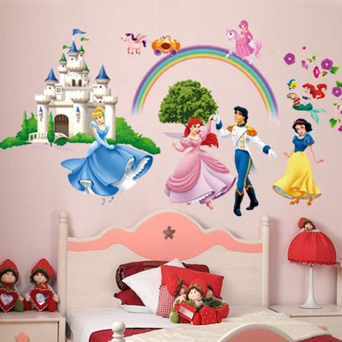 Disney Princess & Castle Rainbow