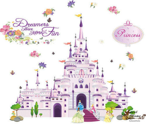 Disney Princess Castle Wall Decal