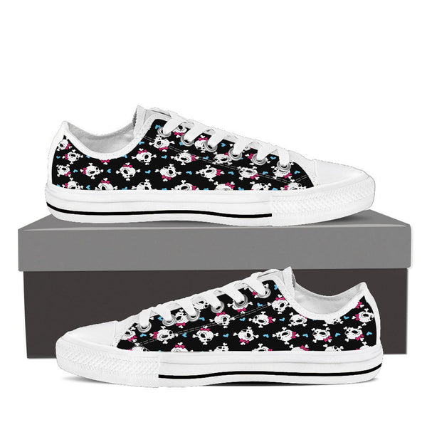 Amazing CROSSBONES High and Low Sneakers