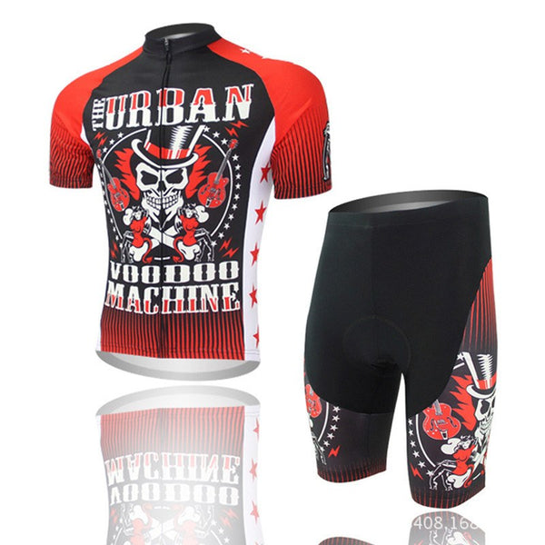 Red Urban Cycling Set