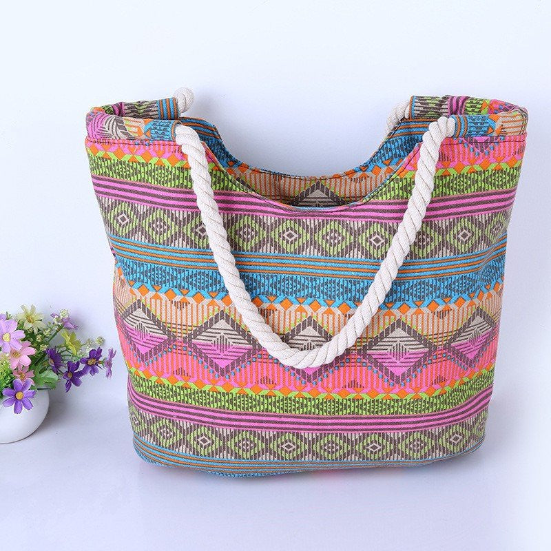 HIGH-QUALITY WOMEN'S CANVAS SHOULDER BAG
