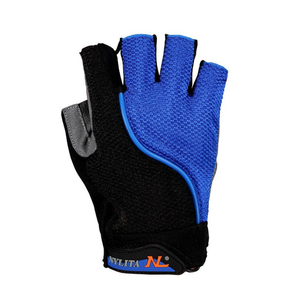Cycling LED Half Finger Gloves