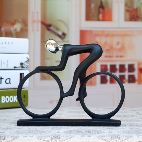 Cycling Art Sculpture