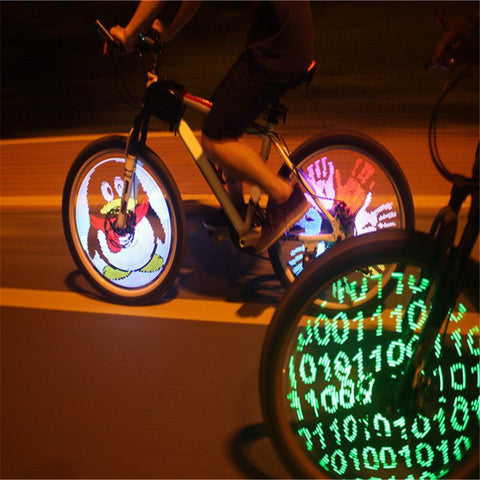Cycling Programmable LED Wheel