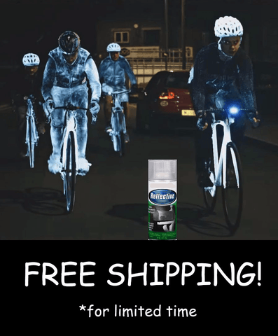 Reflective Spray For Night Cycling