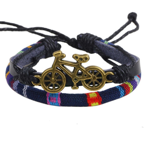 Handmade Vintage Bicycle Bracelet