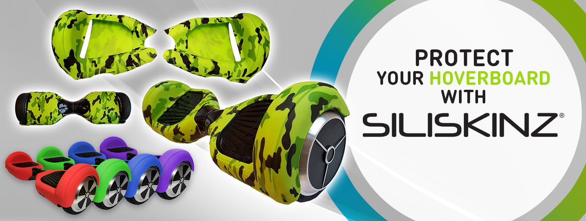 Protect your Hoverboard with SILISKINZ® - The Best Hoverboard Swegway Silicone Protection Case
