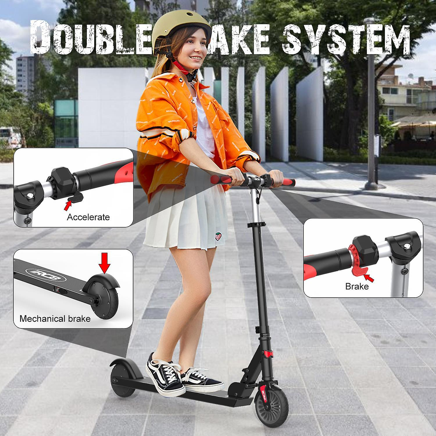 RCB Folding Electric Scooter (for Kids)