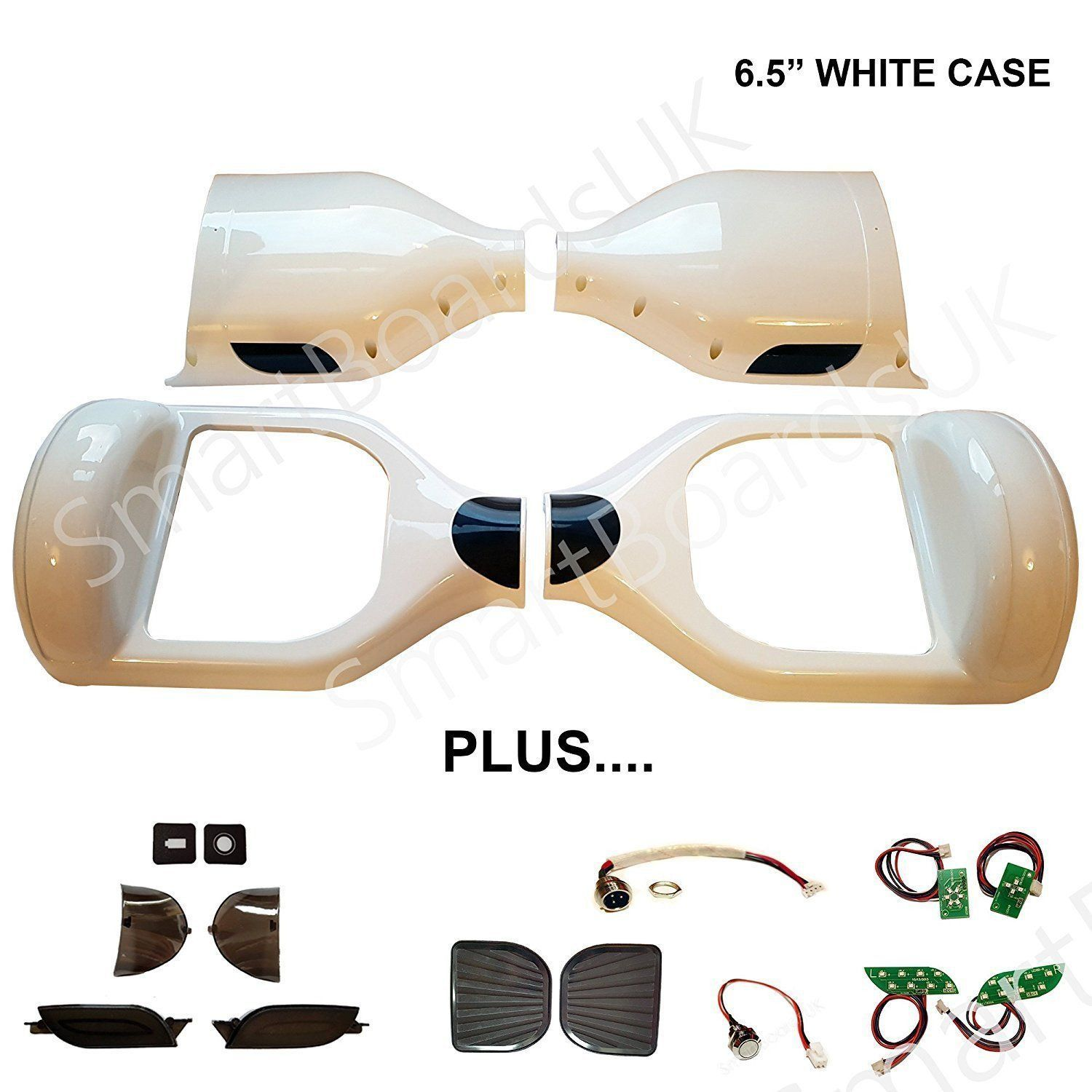 6.5 INCH STANDARD CASE SHELL KIT - BUMP STRIP ARCH (6.5