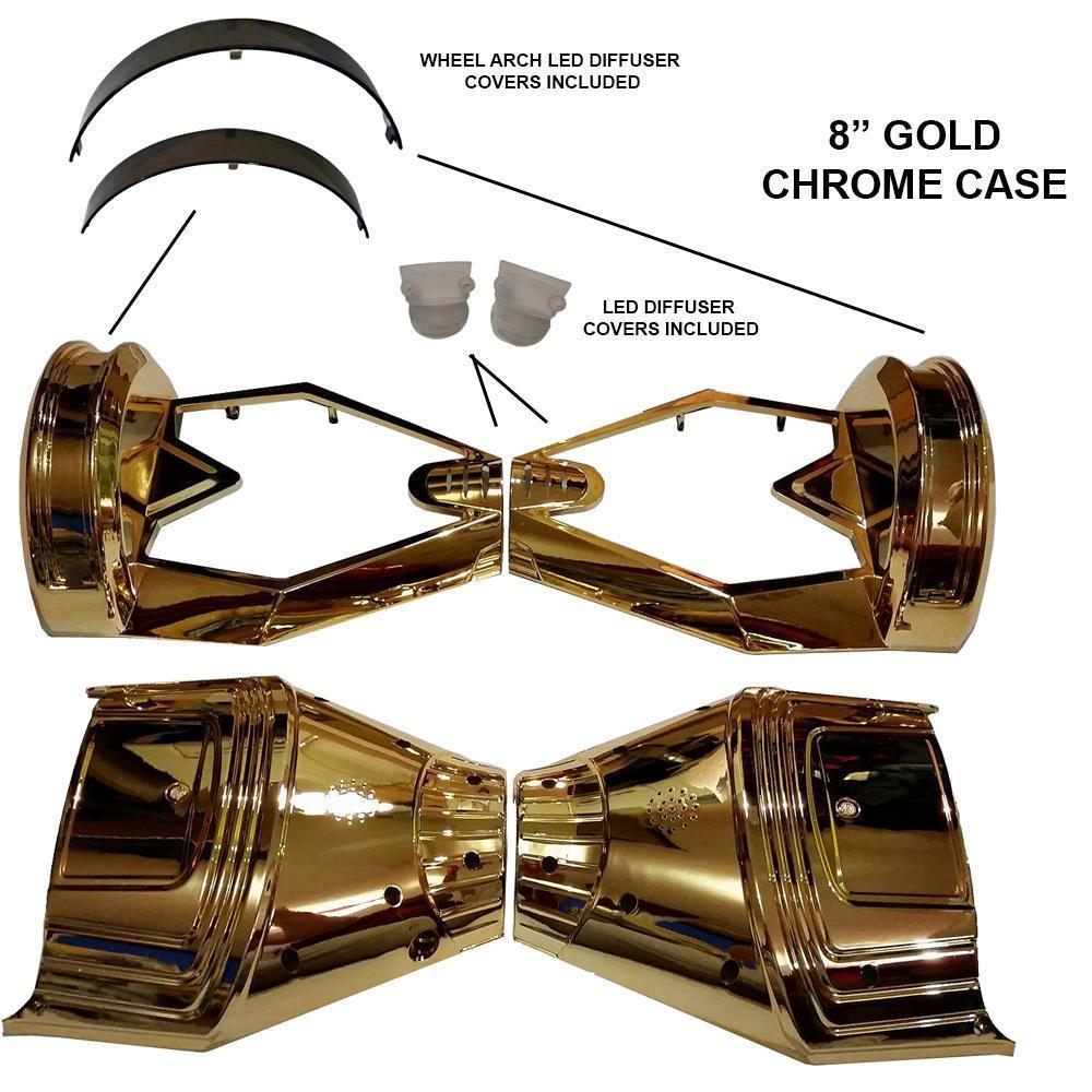 8 INCH CHROME CASE SHELL (8