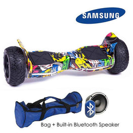 COMIC ALL TERRAIN BLUETOOTH 8.5″ HOVERBOARD SWEGWAY