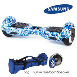 BLUE CAMO 6.5″ CLASSIC HOVERBOARD SWEGWAY